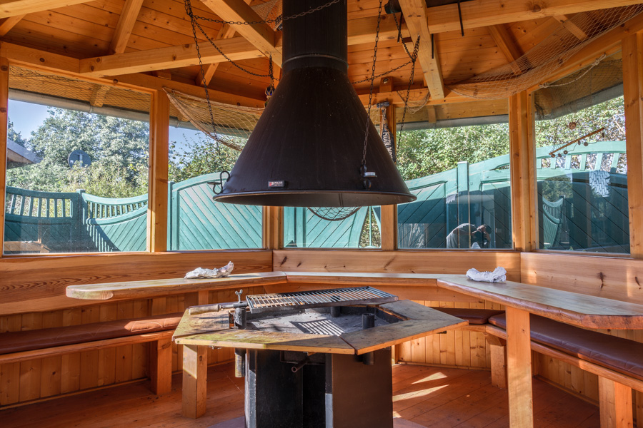 Die wohnung ostseestern ostsee ferienwohnungen for Grill pavillion